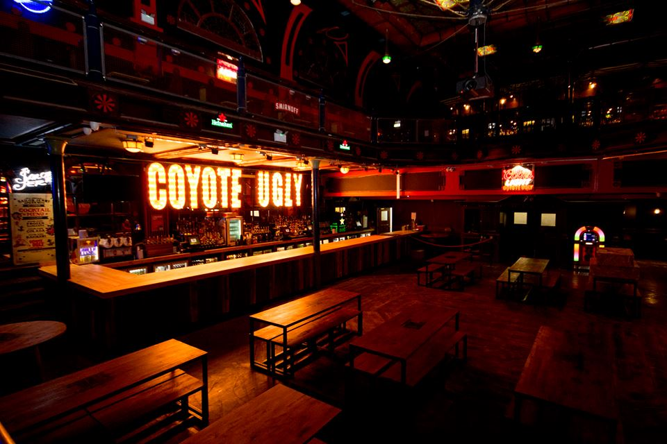 Super Bowl LV at Coyote Ugly