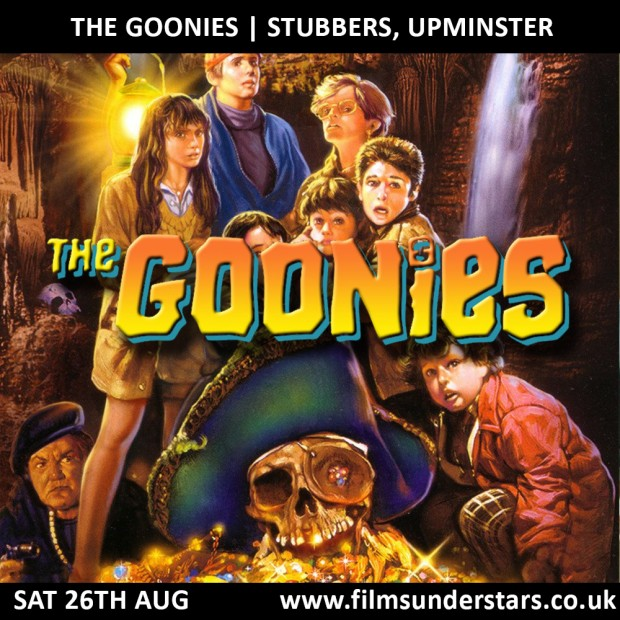 FILMS UNDER STARS THE GOONIES