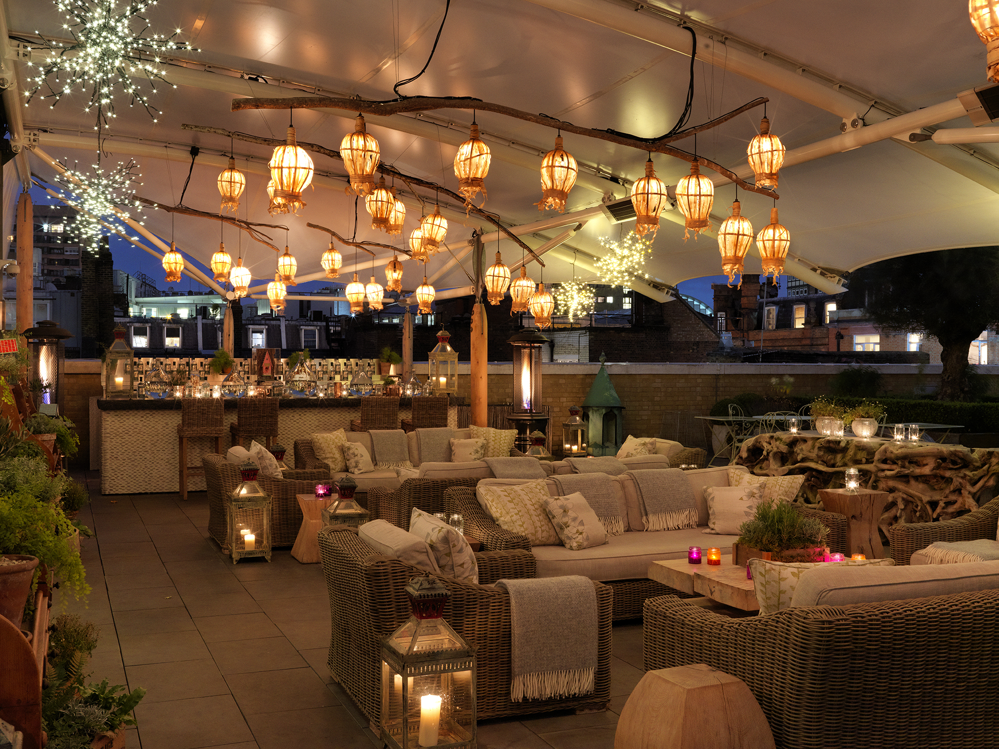 Ham Yard Roof Terrace Summer Sessions London Date Night