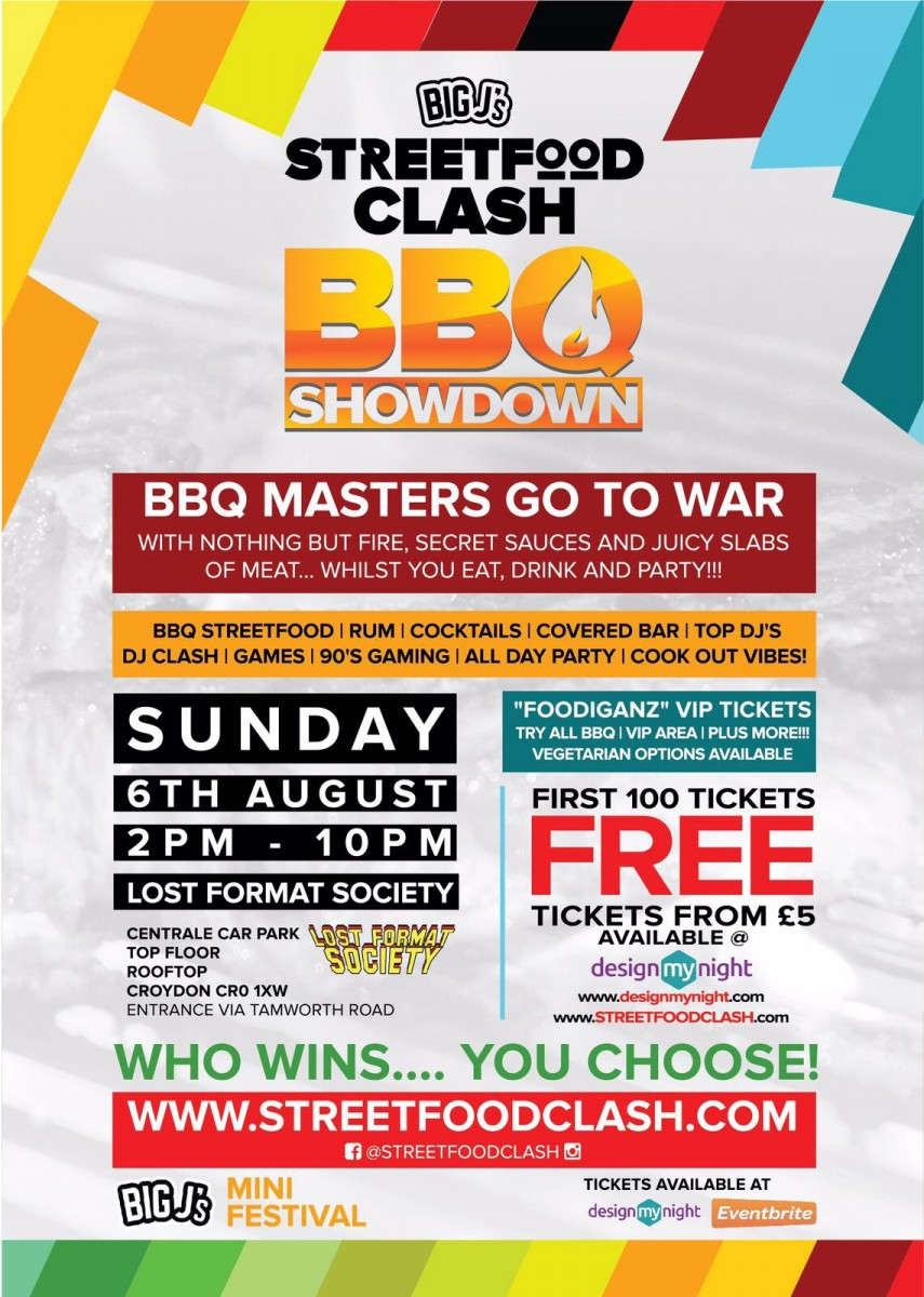 Big J's StreetFood Clash - BBQ Showdown!