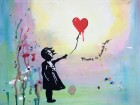 Paint Banksy's Balloon Girl!