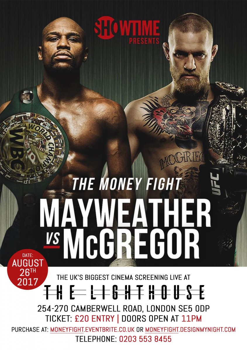 Mayweather vs McGregor : Red carpet Cinema screening