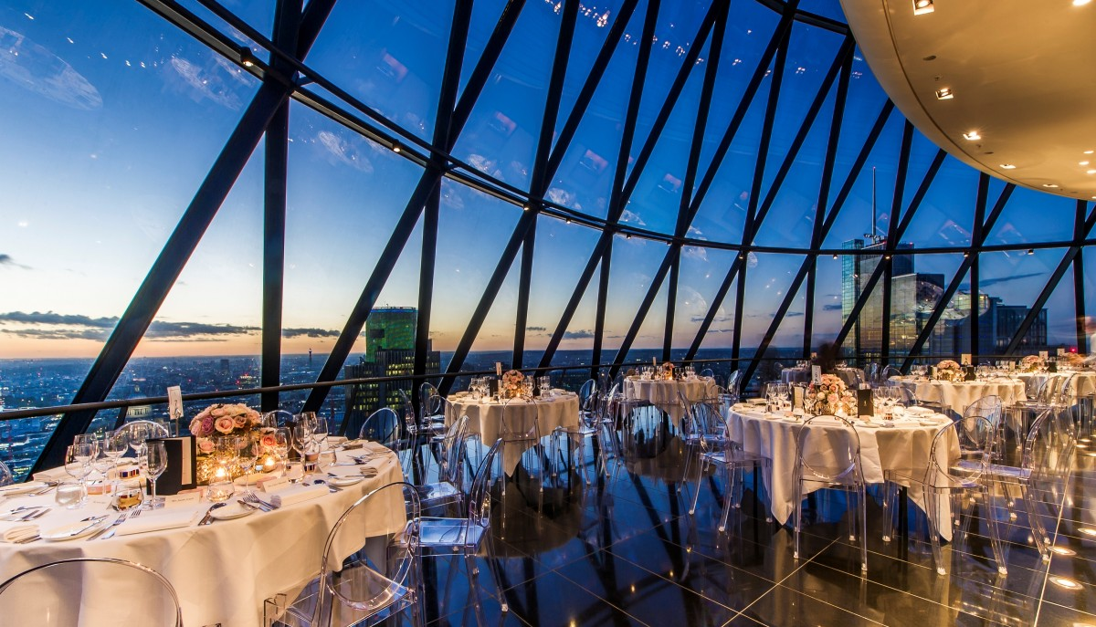 Champagne Tour Searcys At The Gherkin   Private Dining