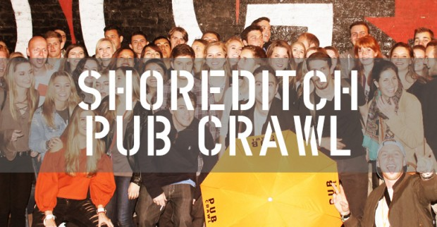 The Original Shoreditch Pub Crawl
