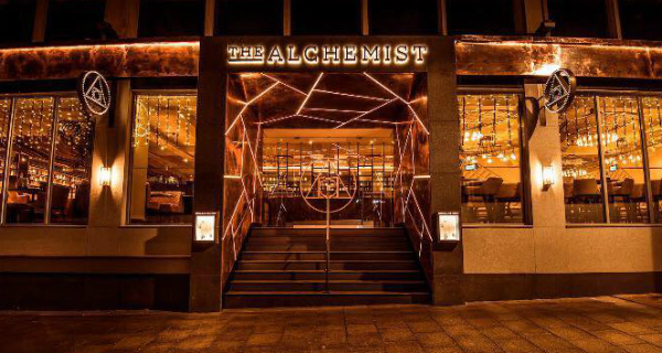 Alchemist Bar Restaurant Nottingham