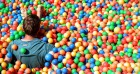 Drink prosecco and jump into an adult ball pit at this big kids festival