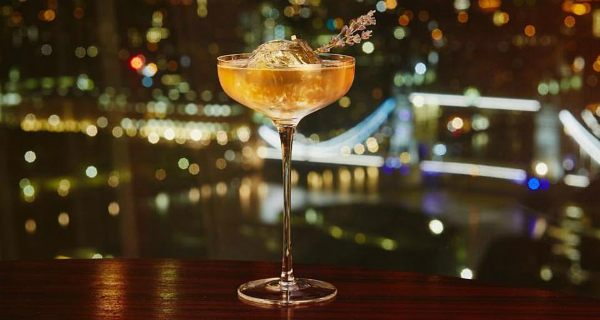 Aqua Shard London Bar Review
