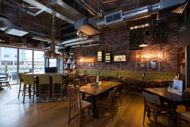A Kitchen And Lounge Menu