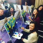 PopUp Painting at Park Regis Hotel!