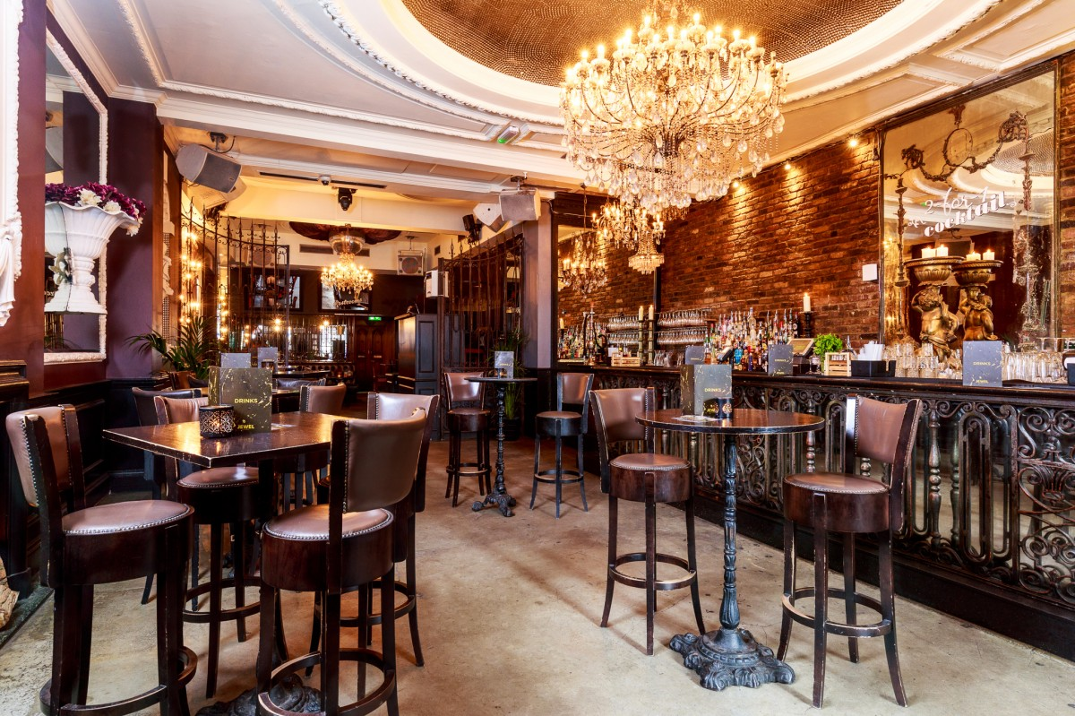 Jewel bar london bar reviews designmynight for Best private dining rooms west end london