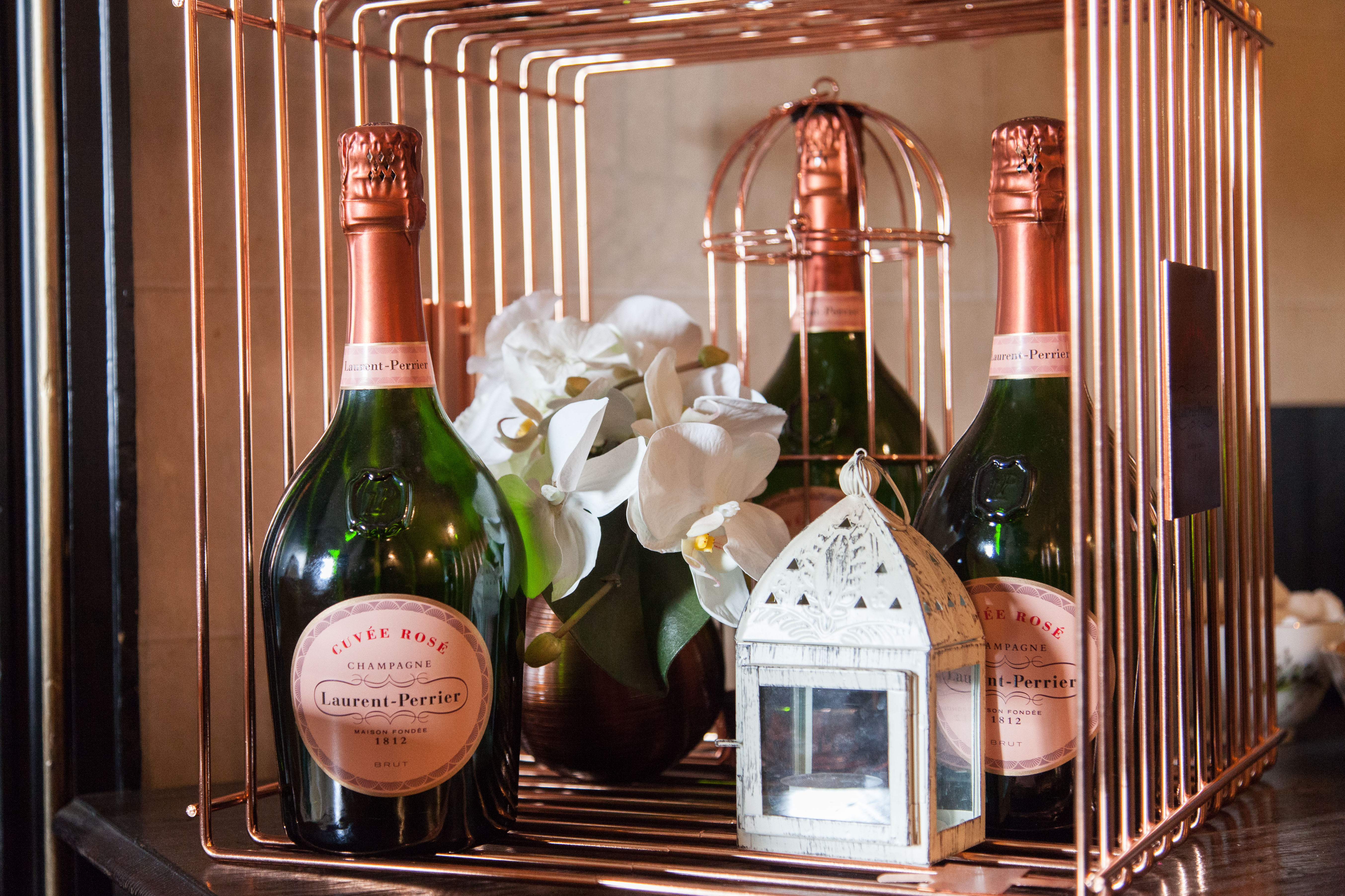 Laurent-Perrier Afternoon Tea -The Exclusive Experience by Searcys