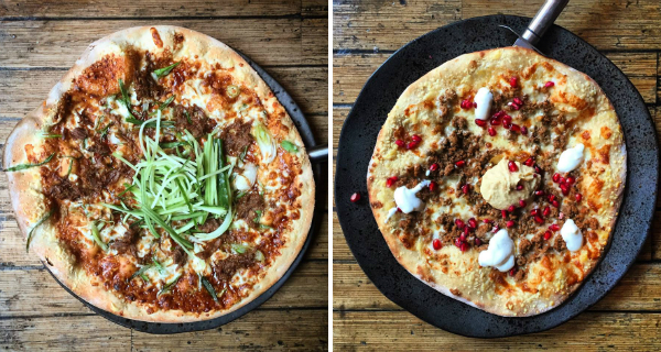Quirky Pizzas in London - Fire and Stone Country Pizzas