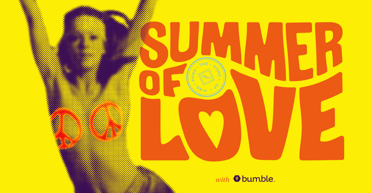Summer of Love Party, with Bumble