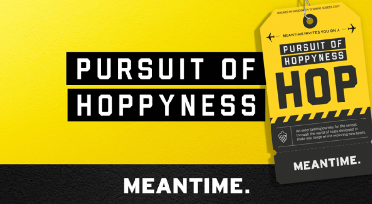 Pursuit of Hoppyness - A Journey of the Senses Through the World of Hops With Meantime Beer