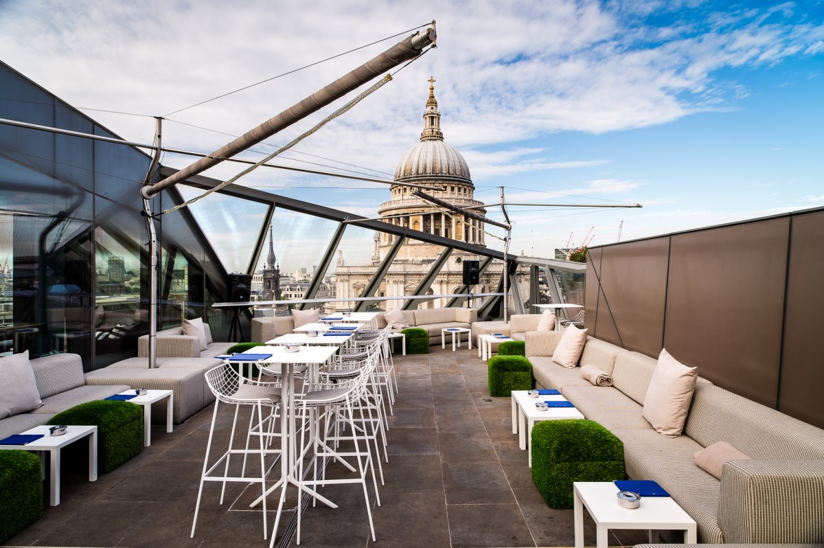 Bars with a view london london 39 s best views bars for Madison terrace