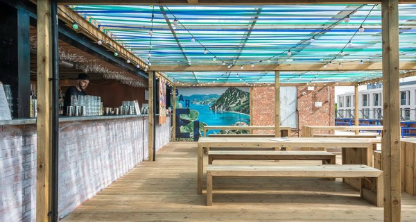 Bar Elba New Waterloo rooftop bar will combine Napoleon and tropical themes
