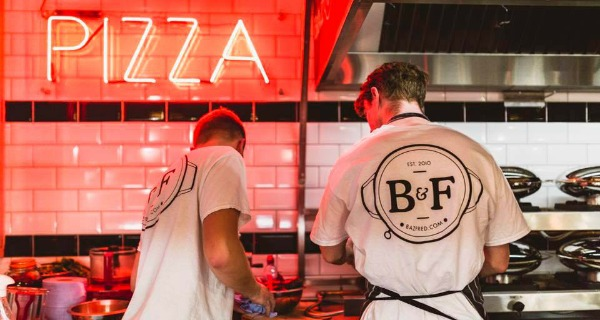 baz and fred london pizza review