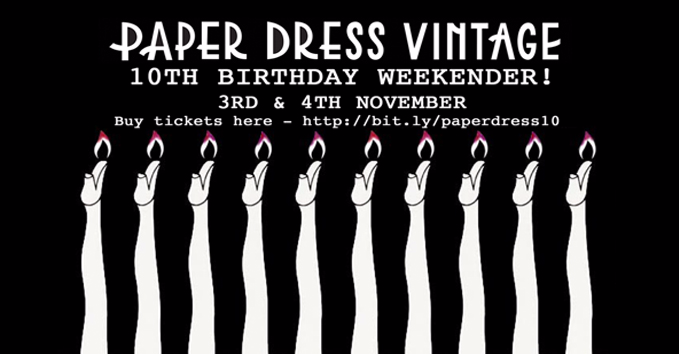 PAPER DRESS 10TH BIRTHDAY! PART ONE!