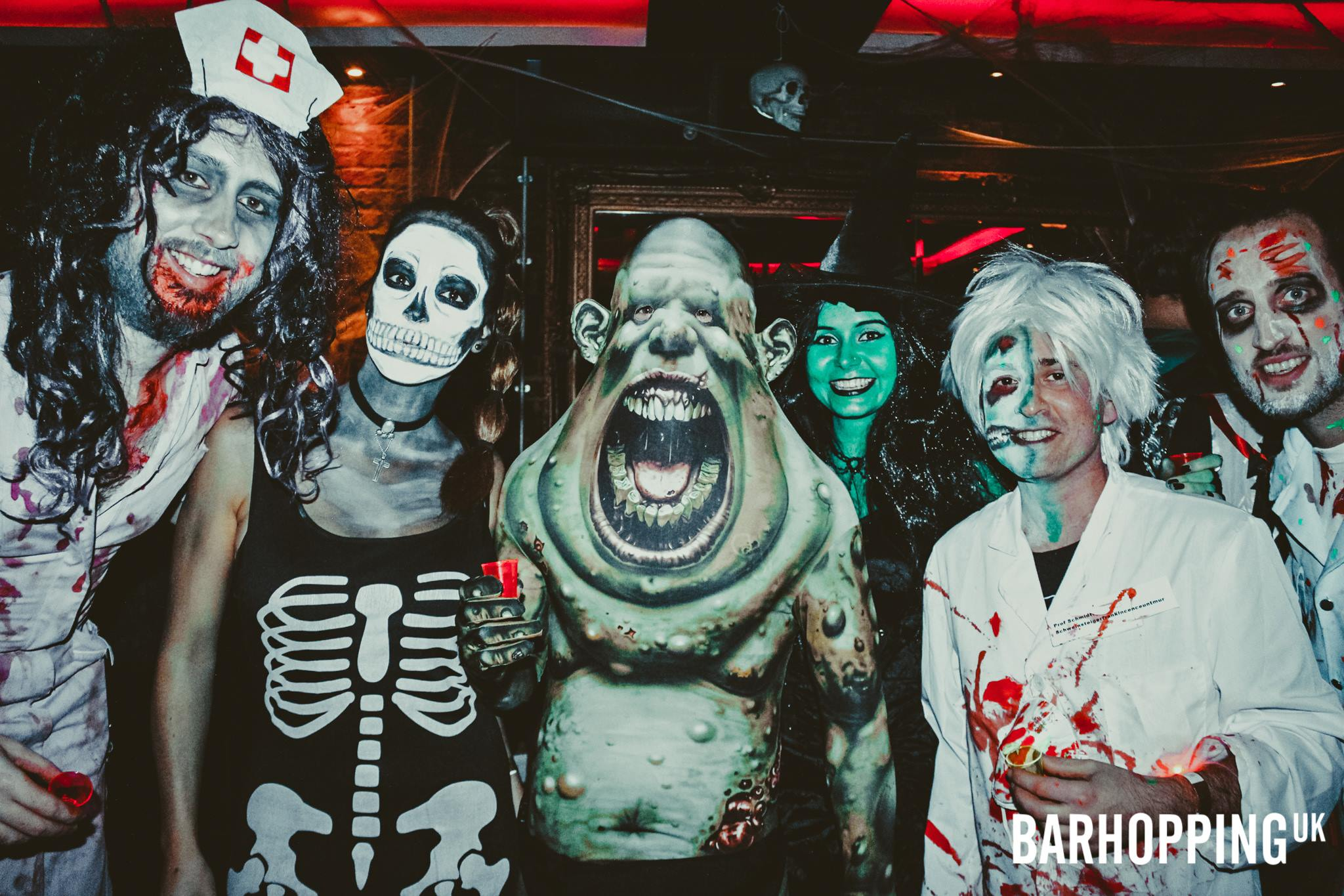 Bloody Scary Halloween Pub Crawl