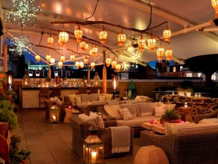 Ham Yard Hotel Roof Terrace World Class Garden To Glass