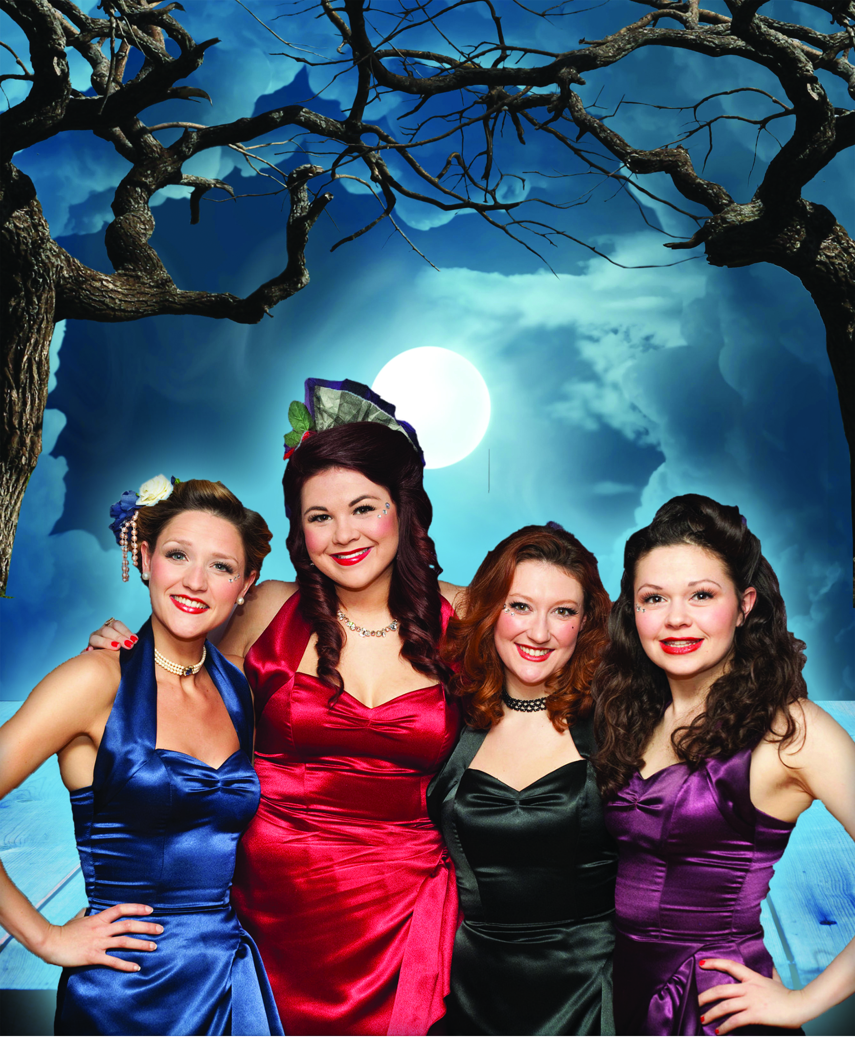 Halloween Party - Four Femmes on the Thames