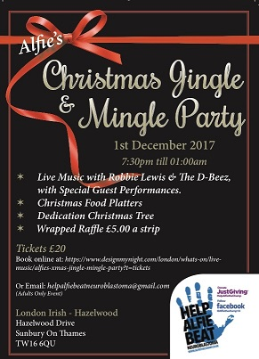 Alfies Xmas Jingle & Mingle Party