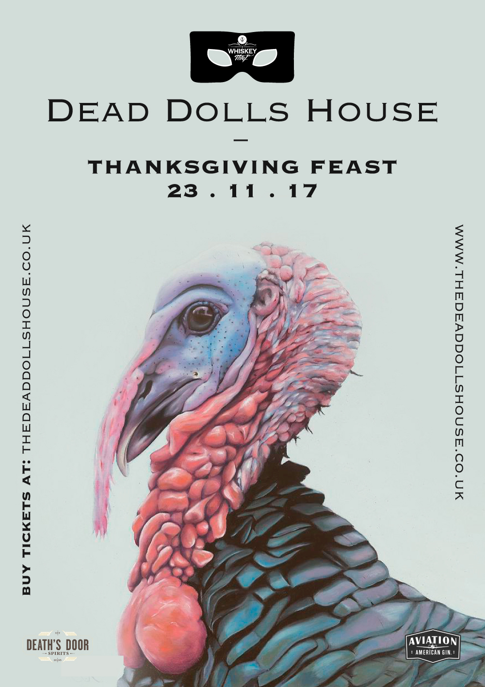 Thanksgiving Feast @ The Dead Dolls House