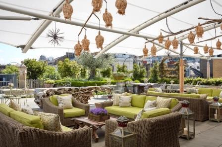 Ham Yard Hotel Roof Terrace World Class Garden To Glass London Date Night Reviews Designmynight