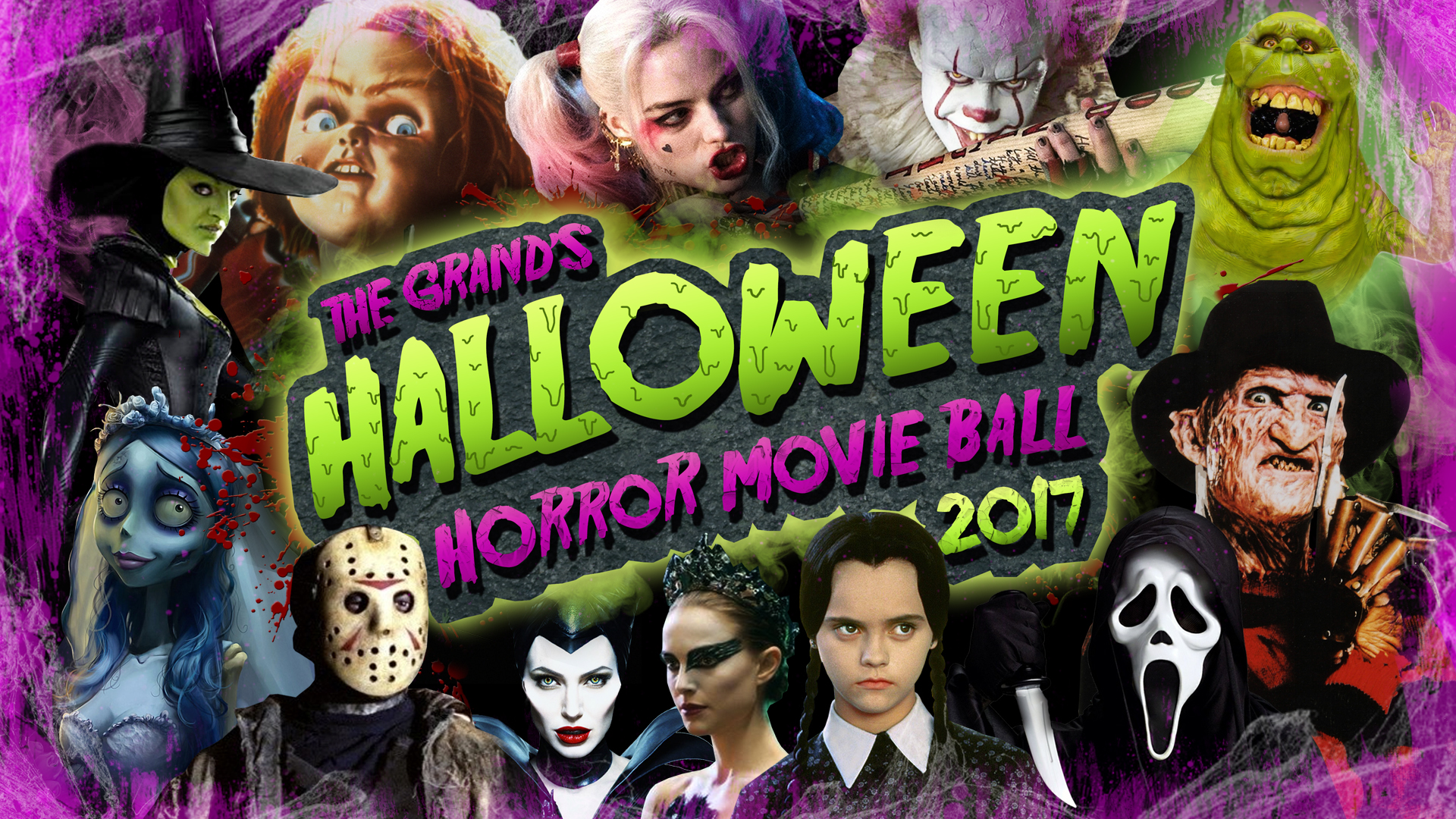 The Grand's Halloween Horror Movie Ball