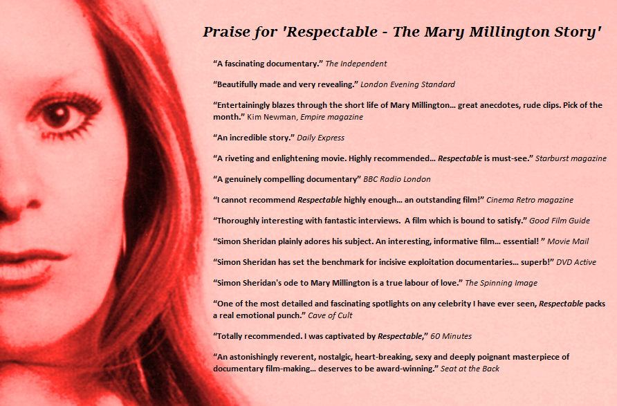 RESPECTABLE – THE MARY MILLINGTON STORY