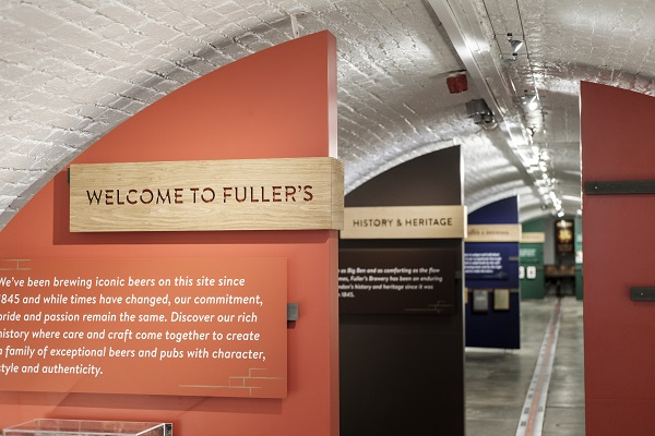 Fuller's Brewery Tasting Tour (Over 18)