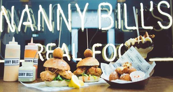 nanny bill's pop up in london