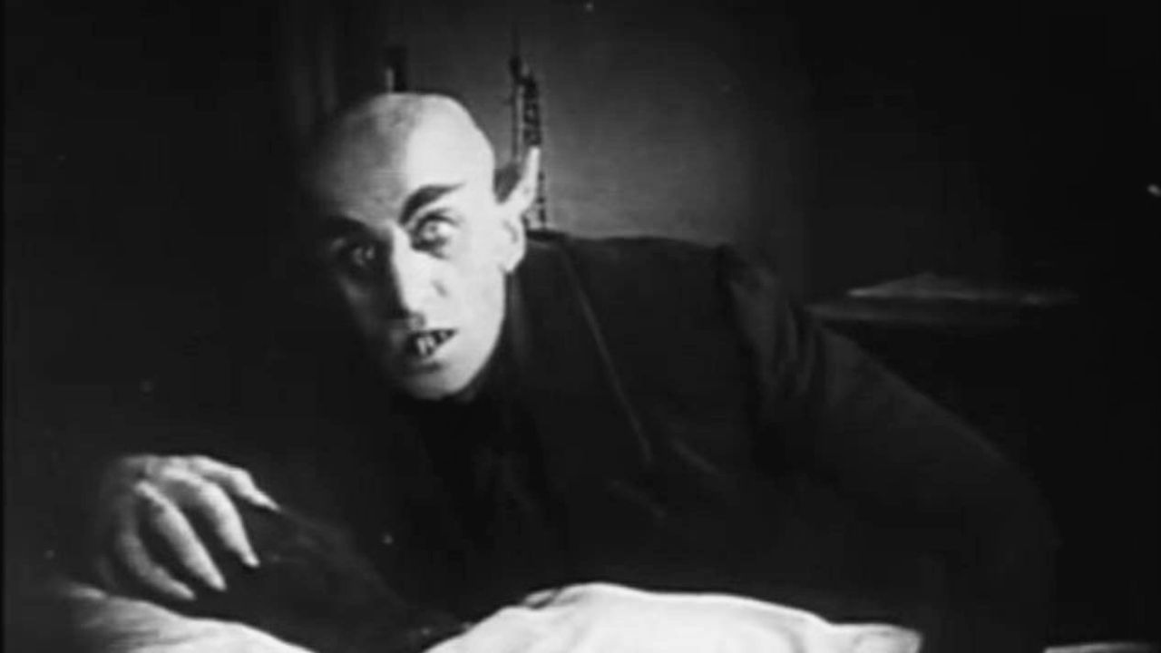 Nosferatu (1922) film with a live score by the Cabinet Of Living Cinema