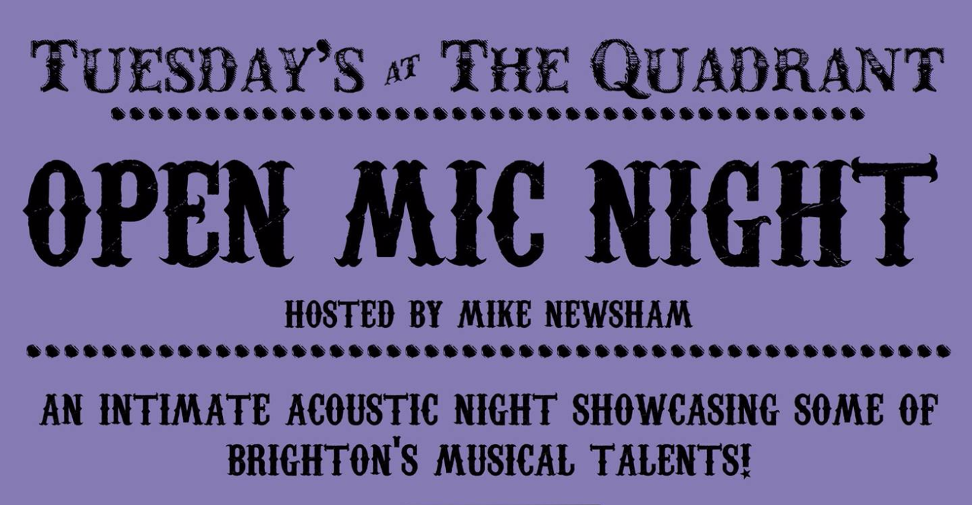 Open Mic Night @ The Quadrant