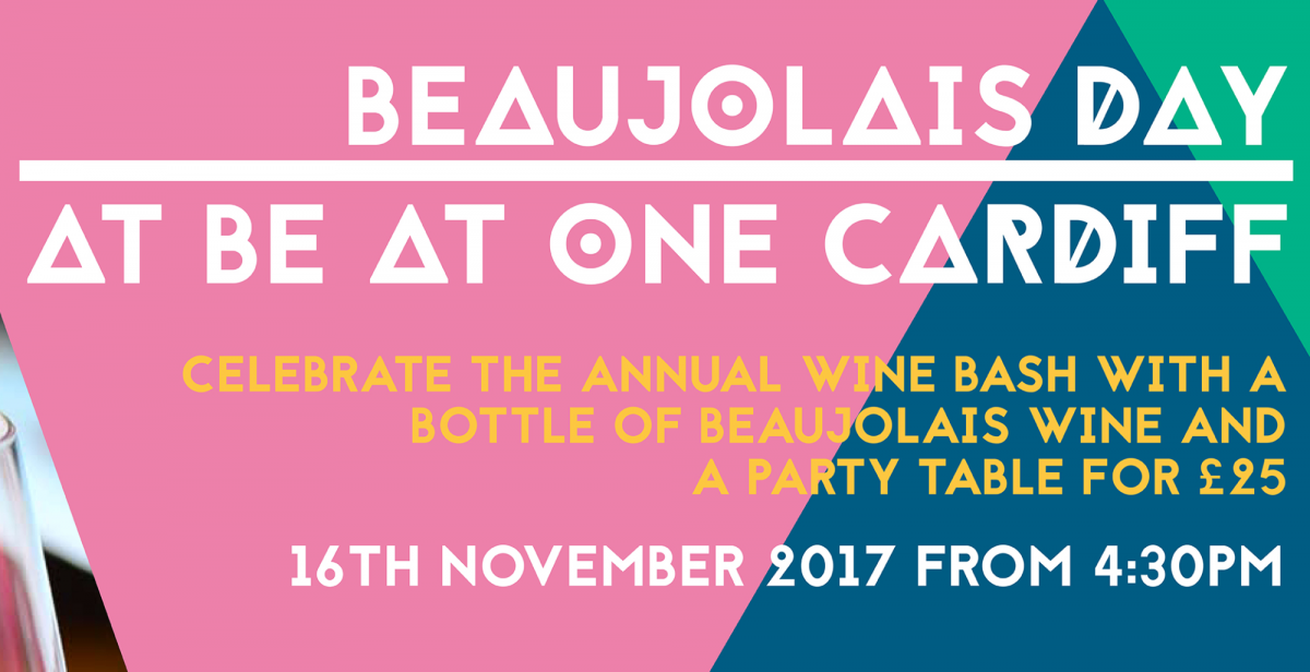 Be At One Cardiff Beaujolais Day