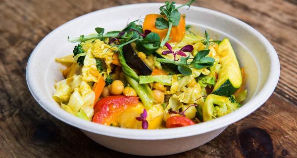 Vegan Nights by CookDaily at Boiler House in Brick Lane