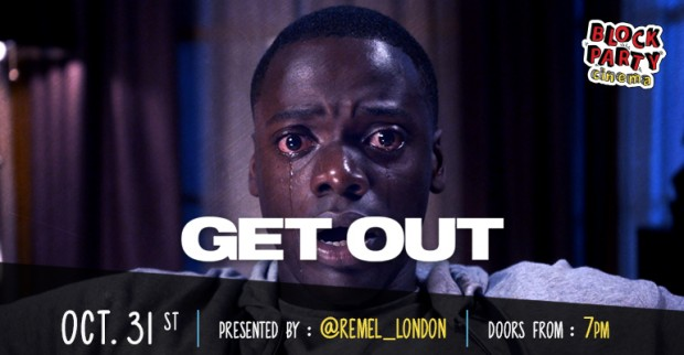 Block Party Cinema Halloween Special: Get Out (2017)
