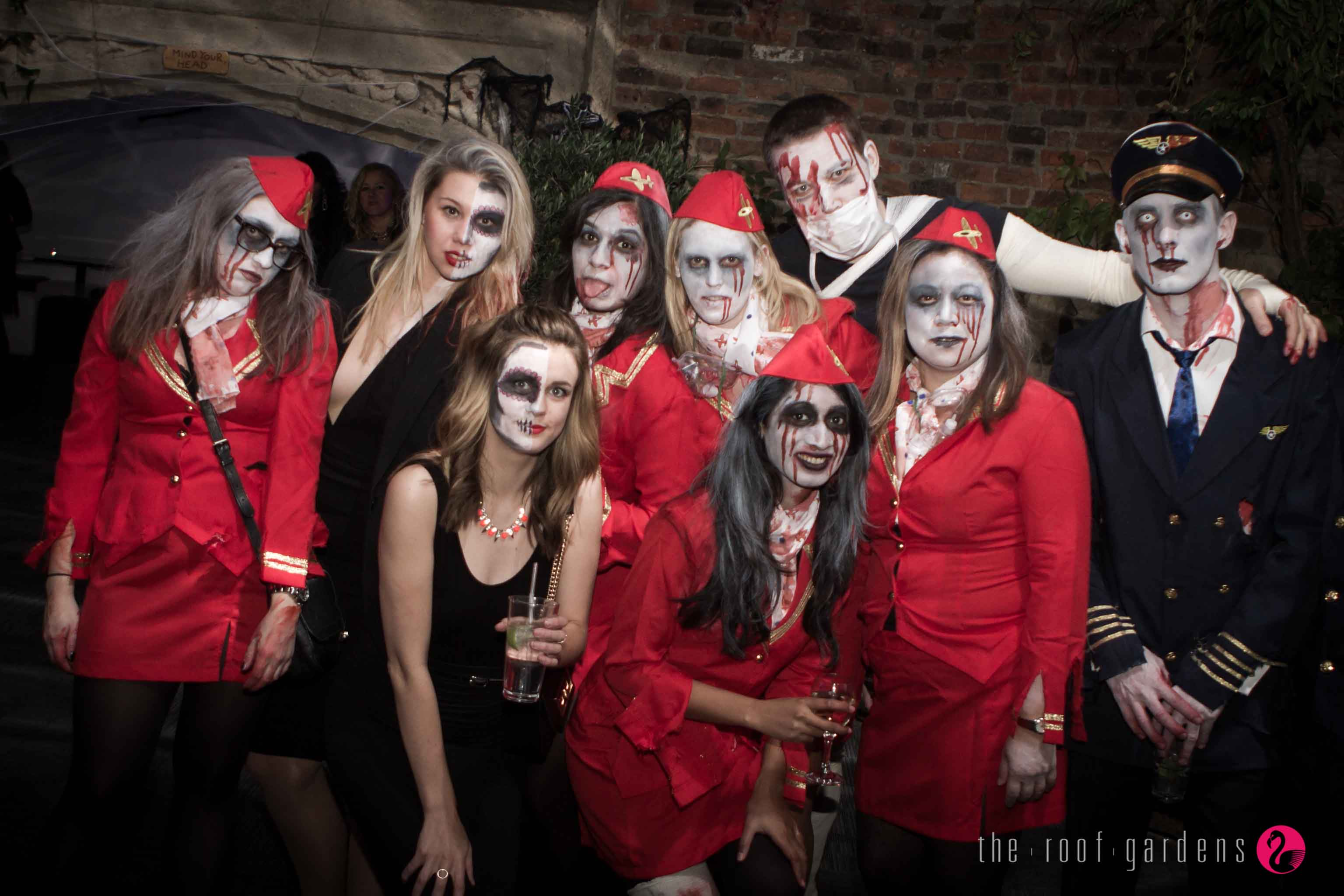 Halloween Party at The Roof Gardens