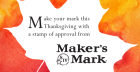 Makers Mark Thanksgiving Dinner