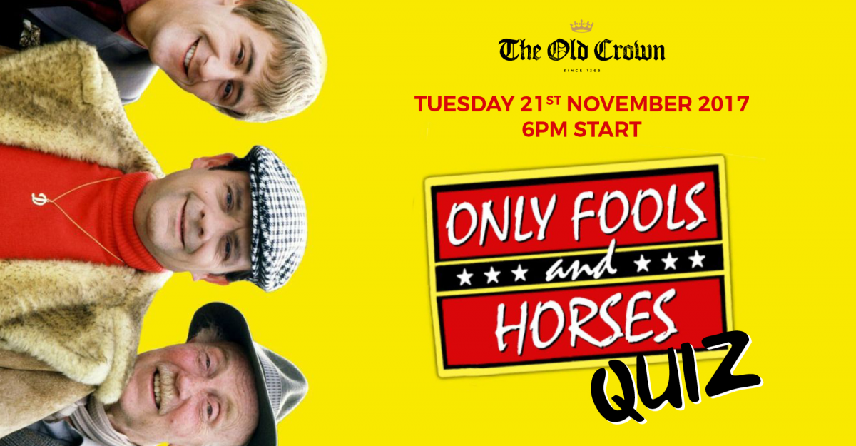 Only Fools and Horses Quiz