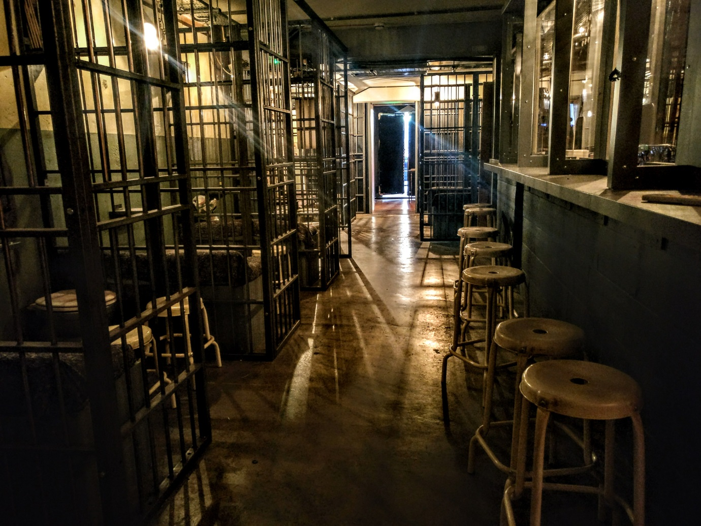 Alcotraz - Prison Cocktail Bar