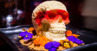 A Huge Cheesecake Skull Has Been Created For Halloween By Chino Latino