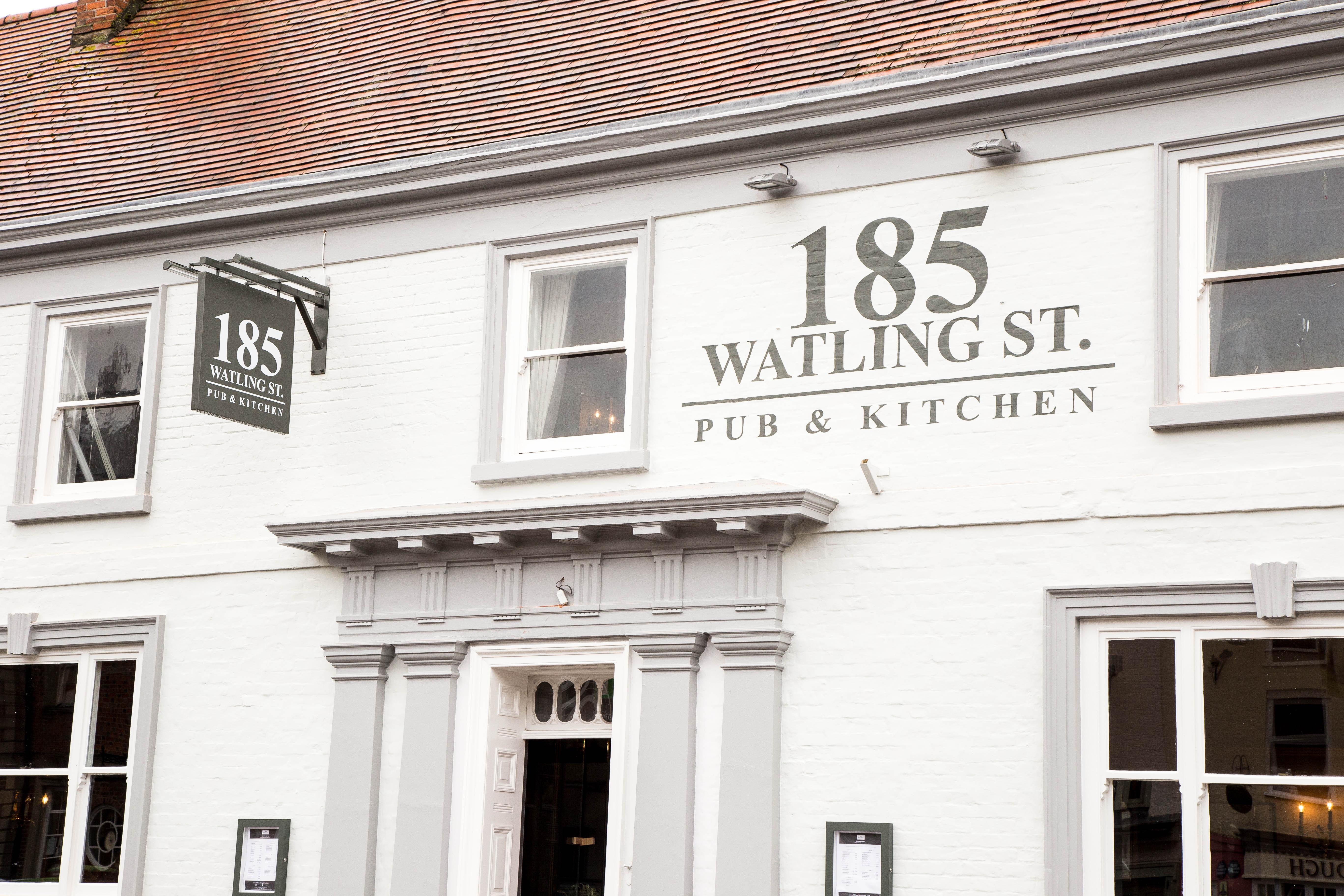 185 Watling St. Pub & Kitchen | Towcester Pub Reviews | DesignMyNight