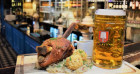 Pork knuckle and steins: our night at Munich Cricket Club