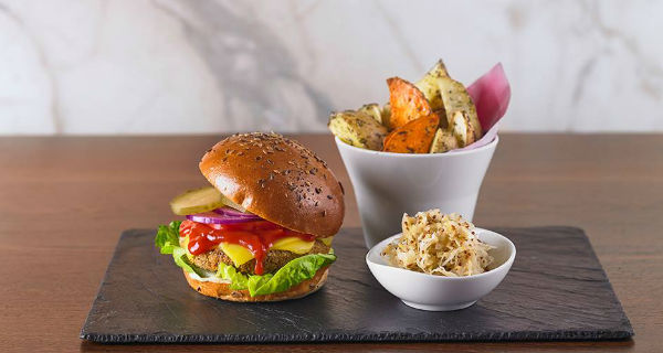 Wulf & Lamb New vegan all-day eatery serving up burgers and massive breakfasts in Chelsea