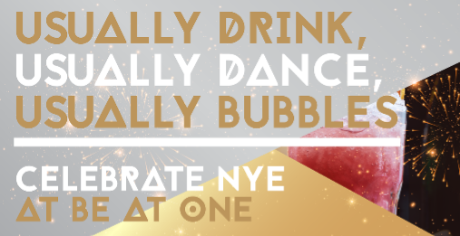 New Years Eve at Be At One! - Birmingham