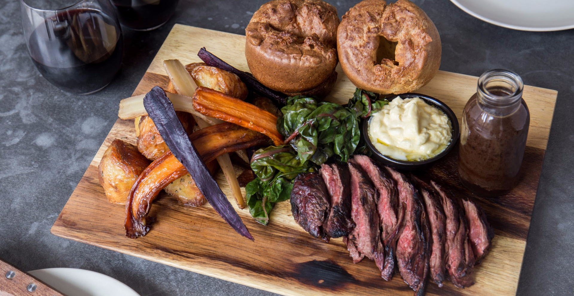 Sunday Steak Roast @hanger & cellar (from £35 for 2 people)
