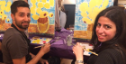 PopUp Painting at The Rose Villa Tavern Birmingham!