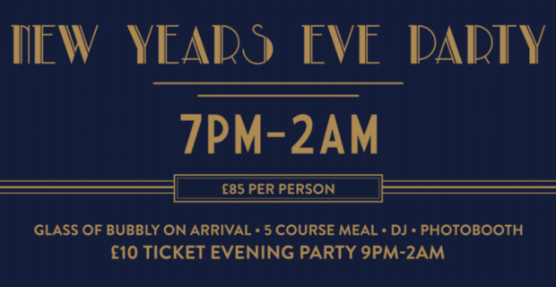 Trafalgar Tavern New Years Eve Party!