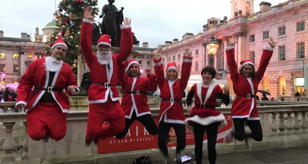 Santa Scavenger Hunt in London